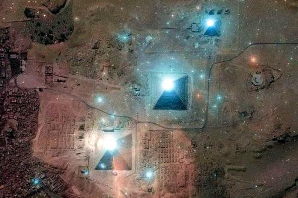 земных пирамид.