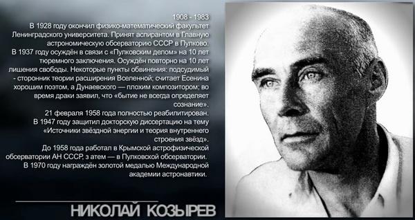 Теория Времени Н А Козырева